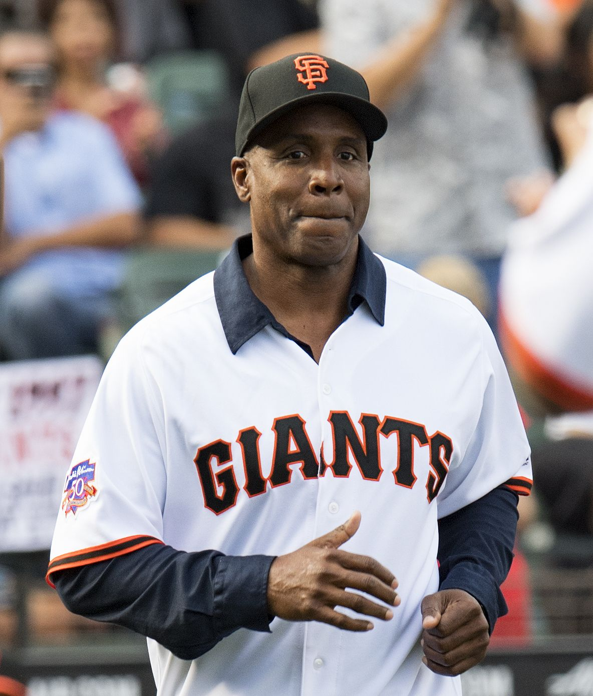 81a455bb7 Barry Bonds at a pre-game celebration of the 1997 Giants. Photo by Valerie  Shoaps CSM REX Shutterstock