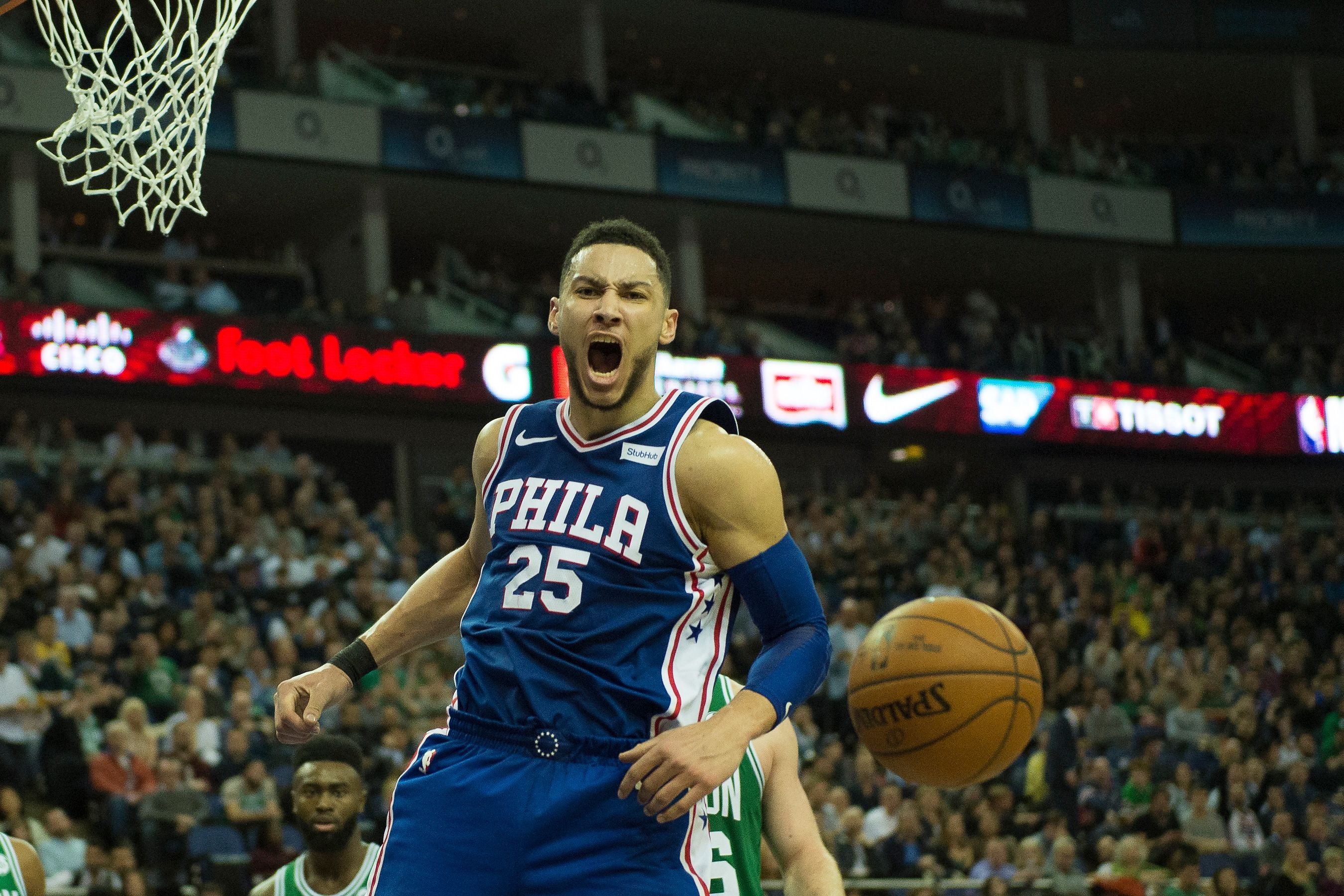 ba030d11c066 Ben Simmons. Photo by Martin Cole ProSports REX Shutterstock. LeBron James  ...